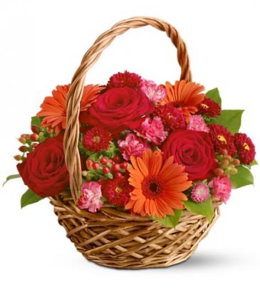 Warm Wishes Basket Basket