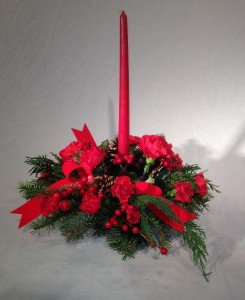 Warm Wishes Candle Centerpiece