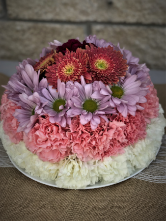 Warm Wishes Floral Cake Florist Choice Designed