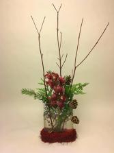 Warmest  Cosy  Nest Christmas Arrangement