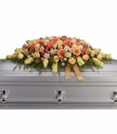 Warmest Remembrance Casket Spray H2663A