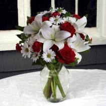 Warmest Wishes Vase Arrangement