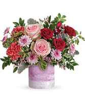 Washed In Pink Bouquet Birthday