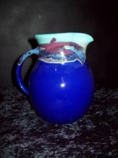 "Water Pitcher ""Mystic Water"" Pottery"