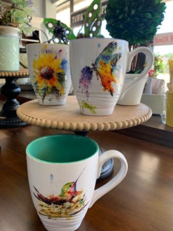 Watercolor 15oz Nature Mugs Kitchen