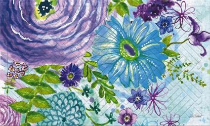 Watercolors Indoor/Outdoor Mat