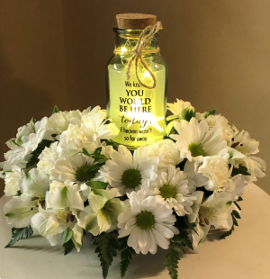 We Know You Would Be Here Twinkle Jar in Springfield, IL | FLOWERS BY MARY LOU