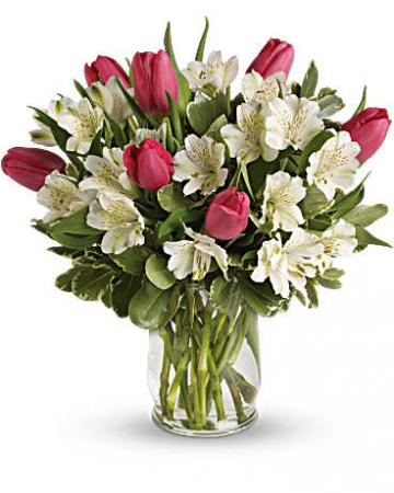 We Love Spring Vase Arrangement