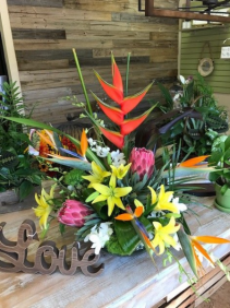 We Love Tropicals Tropical Arrangement