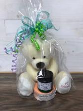 We love you grandma Bear, bath bomb and lotion