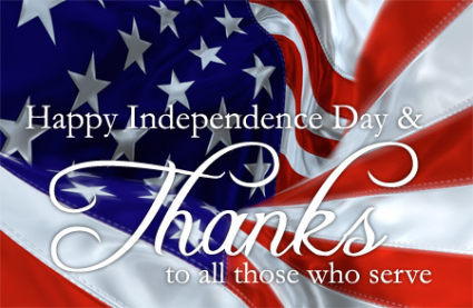 We will be CLOSED July 4 - 7 for Brief Vacation! We will reopen Monday! Have a Safe Holiday