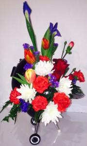 Weber Grill Fresh Flowers
