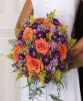 BRIDAL BOUQUET Wedding Flowers WS43-11
