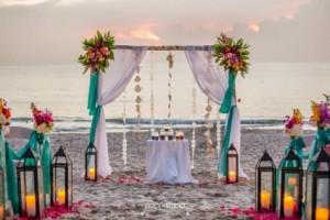 Wedding Arch for Beach Weddings Arches in Sebastian, FL | PINK PELICAN FLORIST