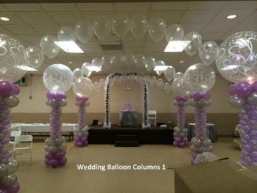 Wedding Balloon Column 1