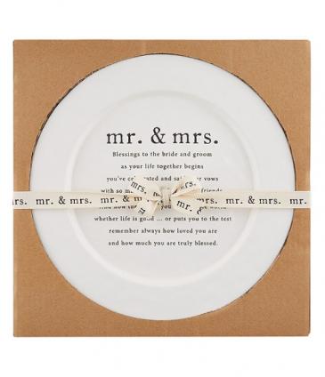 Wedding Blessings Platter