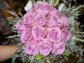 Wedding Bouquet Lavender Roses