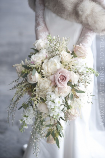 WEDDING BOUQUET PASTEL