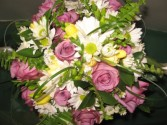 Wedding Bouquet Tiger Lilies Original