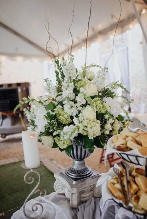 Superb Wedding Buffet Wedding Vase Urn Arrangement In Cartersville Interior Design Ideas Helimdqseriescom