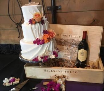 wedding cake flowers bridal flowers