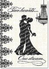 Two Hearts.. Wedding Card