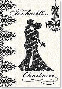 Two Hearts.. Wedding Card