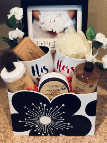 Wedding Celebration Gift Basket