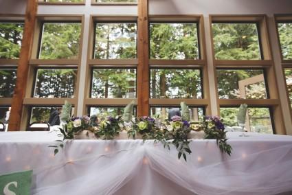 Wedding Centerpiece Log woodland centerpiece