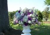 Wedding Ceremony Flowers Pedestal Flowers