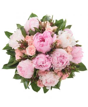 Wedding flowers from beartooth floral gifts your local cody wy wedding delight peony bridal bouquet in cody wy beartooth floral gifts mightylinksfo