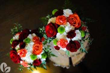 Wedding flowers Fresh Arrangement