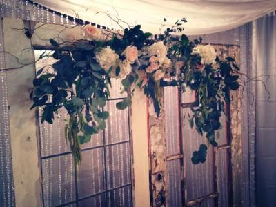 Wedding Flowers Swag Swag