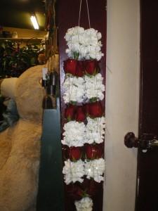 wedding garland wedding flowers