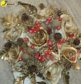 Wedding-Golden desire bouquet