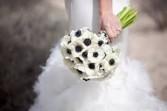 Wedding Hand Held Bouquets Silk Flowers
