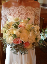 Wedding Lace Bridal Bouquet