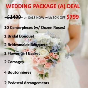 Wedding Package  A WEDDING PACKAGE DEAL To expire in 30days! in Whittier, CA | Rosemantico Flowers