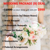 Wedding Package B WEDDING PACKAGE DEAL To expire in 30days!