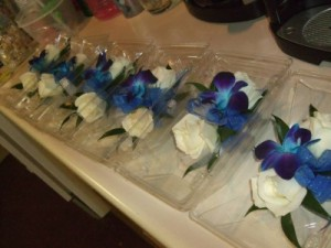 Wedding Party Corsages  in Canon City, CO   TOUCH OF LOVE FLORIST AND WEDDINGS