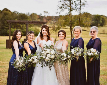 Wedding Party Flowers Wedding