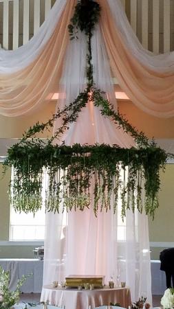 Wedding reception Dance floor or cake decoration
