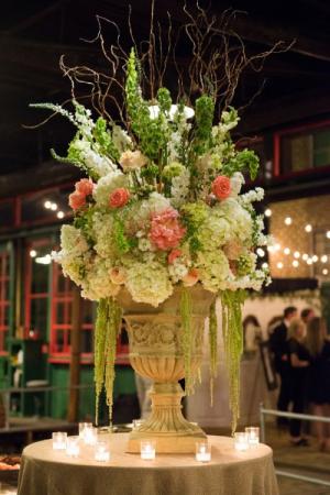 Wedding Reception Focal Arrangement Large Centerpiece