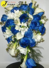 Wedding - Singing the Blues Bouquet