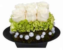 WEDDING TABLE CENTER PIECE Reception Arrangement