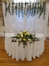 Wedding table centerpiece
