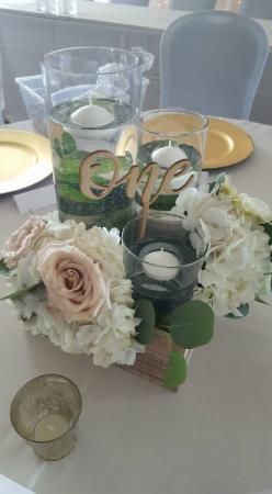Wedding Table Centre Ideas w