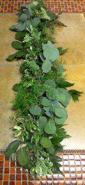 Wedding Table Greens