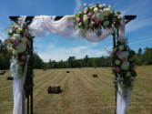 Wedding Trellis Wedding Flowers