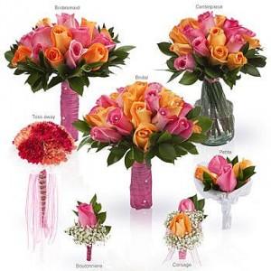 wedding flower package in indianapolis in shadeland flower shop. Black Bedroom Furniture Sets. Home Design Ideas